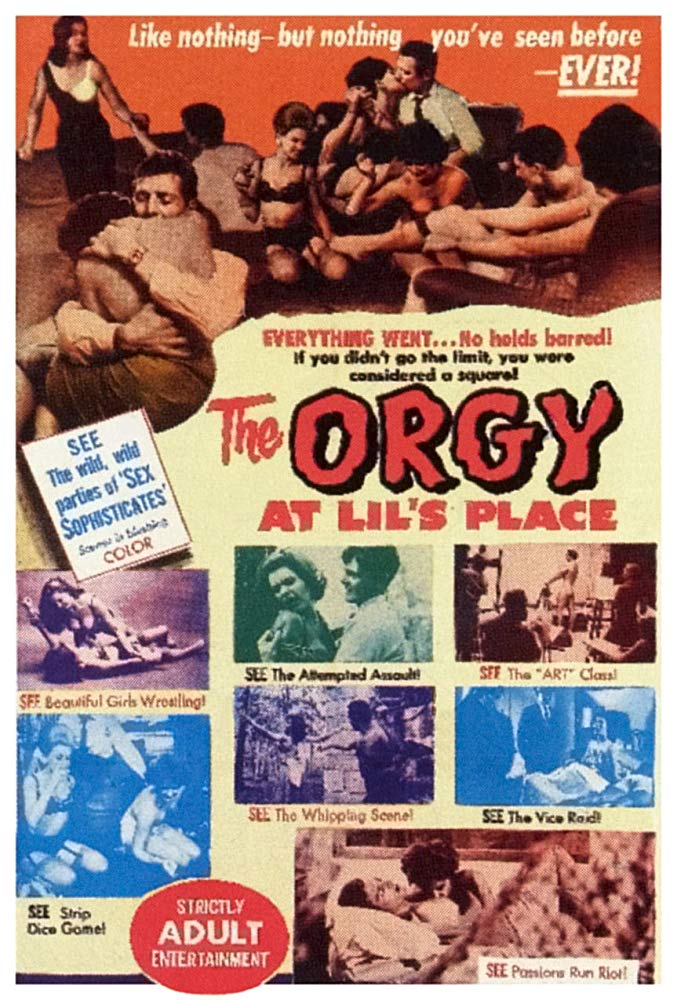 The Orgy At Lil´s Place (1963) - June Ashley  DVD