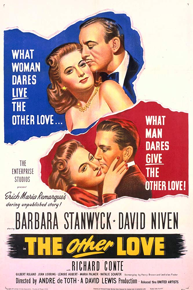 The Other Love (1947) - Barbara Stanwyck  DVD
