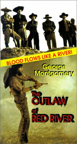 The Outlaw Of Red River (1965) - George Montgomery  DVD