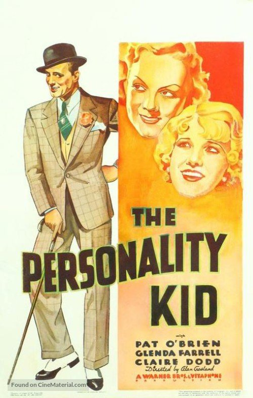 The Personality Kid (1934) - Pat O´Brien  DVD