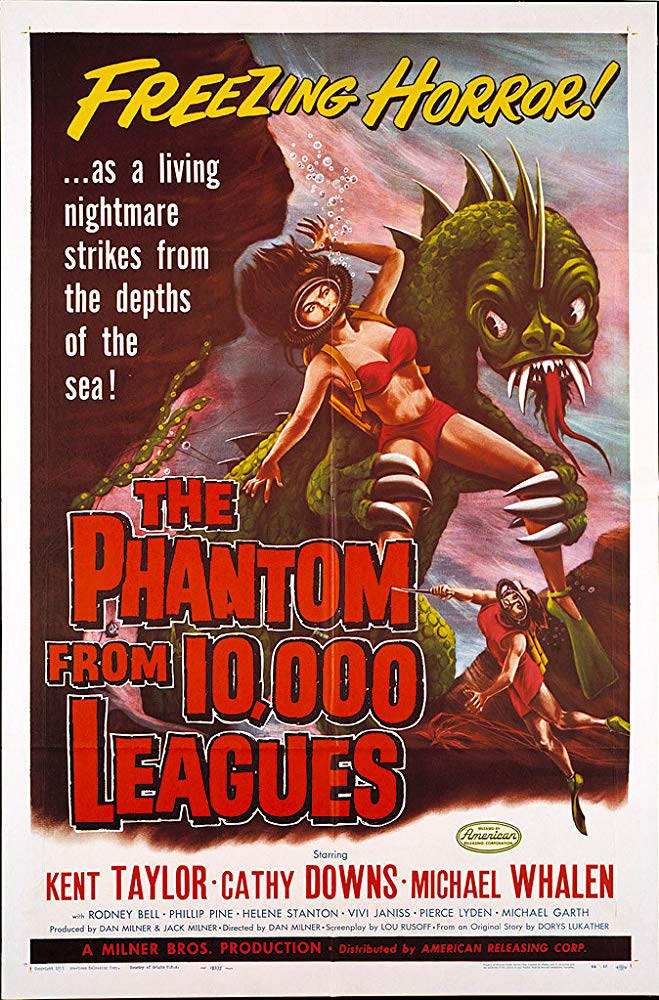 The Phantom From 10000 Leagues (1955) - Kent Taylor  DVD