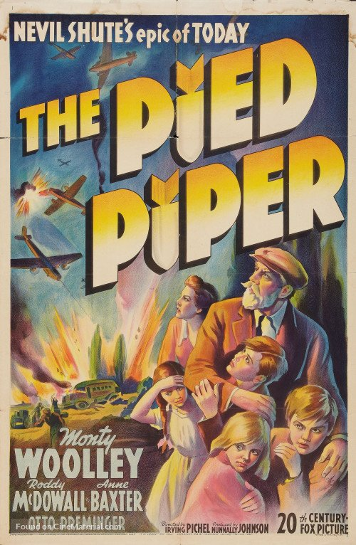 The Pied Piper (1942) - Roddy McDowell