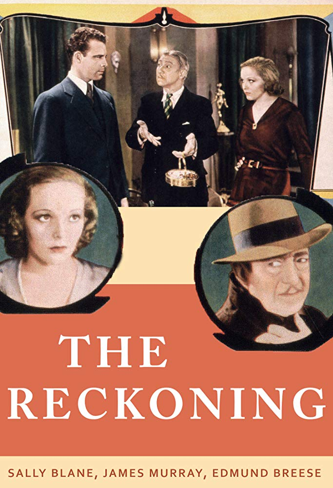 The Reckoning (1932) - James Murray  DVD
