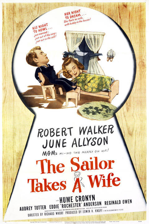 The Sailor Takes A Wife (1945) - Robert Walker  DVD