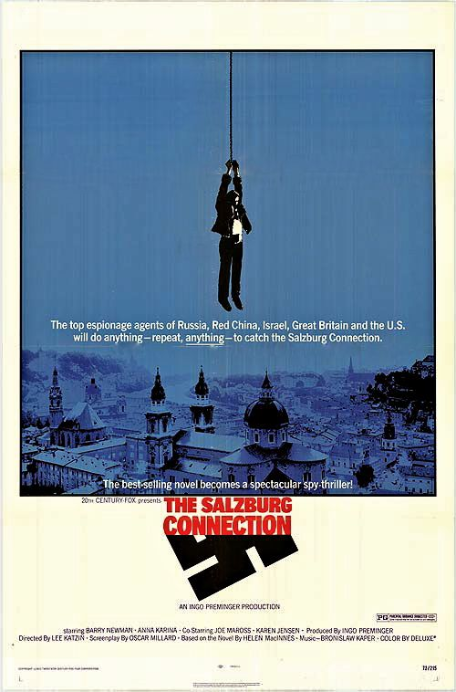 The Salzburg Connection (1972) - Barry Newman  DVD
