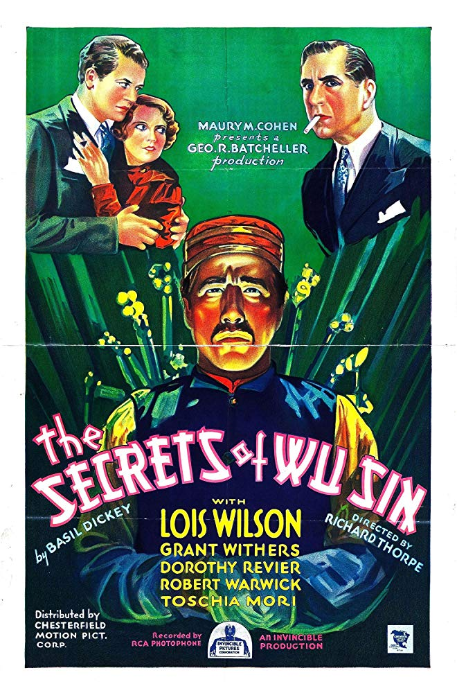 The Secrets Of Wu Sin (1932) - Lois Wilson  DVD