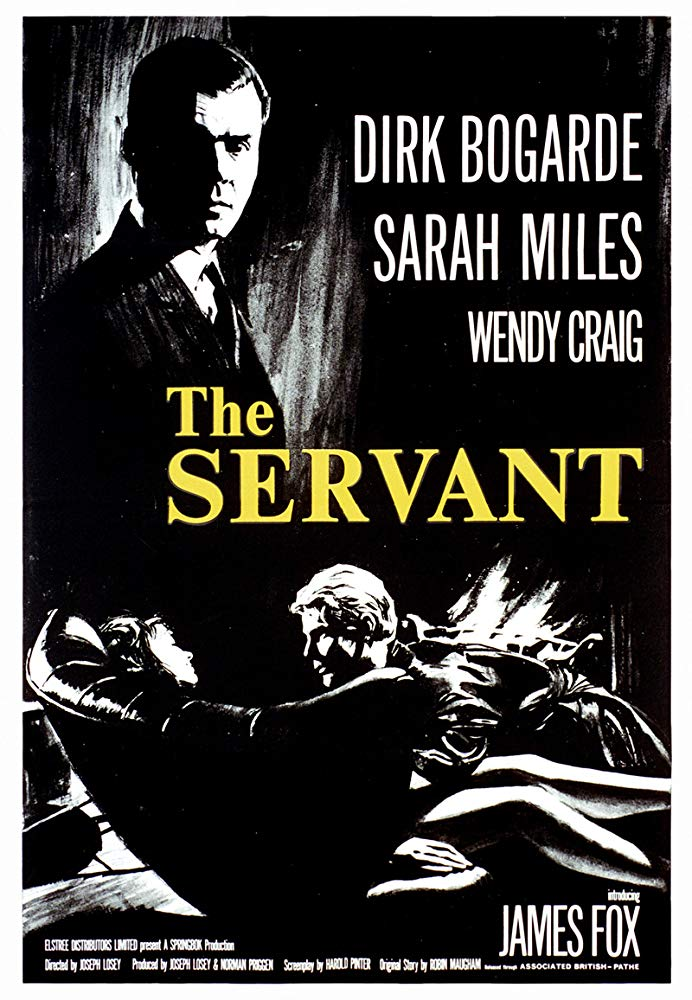 The Servant (1963)- Dirk Bogarde  DVD