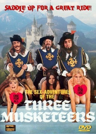 The Sex Adventures Of The Three Musketeers (1971) - Ingrid Steeger  DVD
