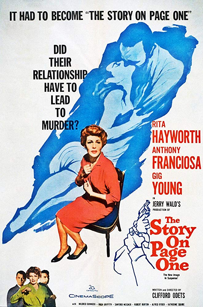 The Story On Page One (1959) - Rita Hayworth  DVD