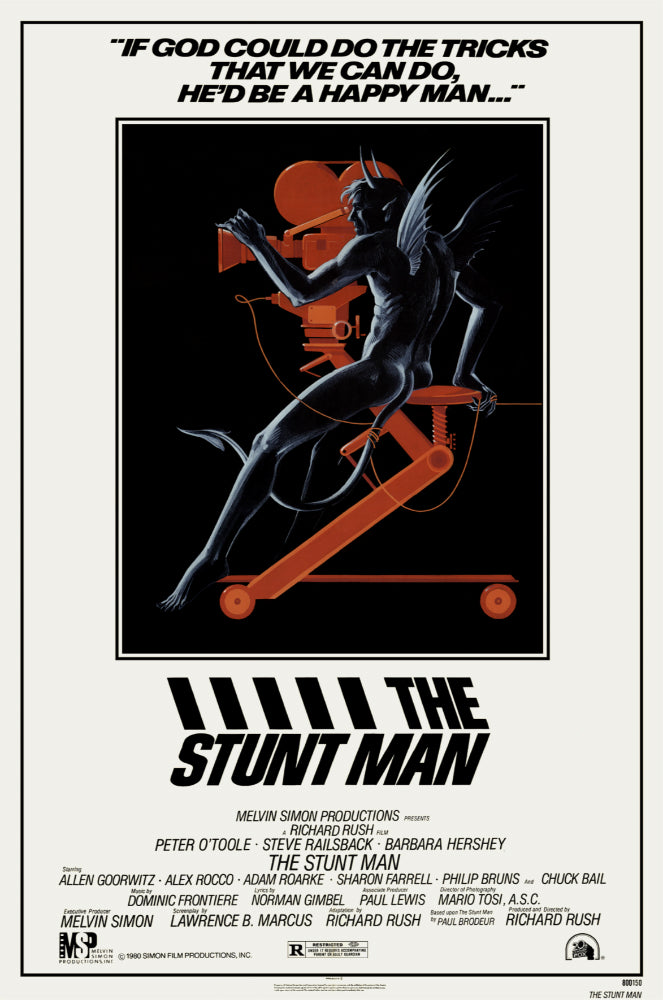 The Stunt Man (1980) - Peter O´Toole  DVD