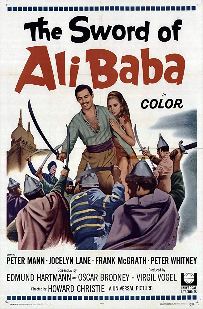 The Sword Of Ali Baba (1965) - Peter Mann  DVD