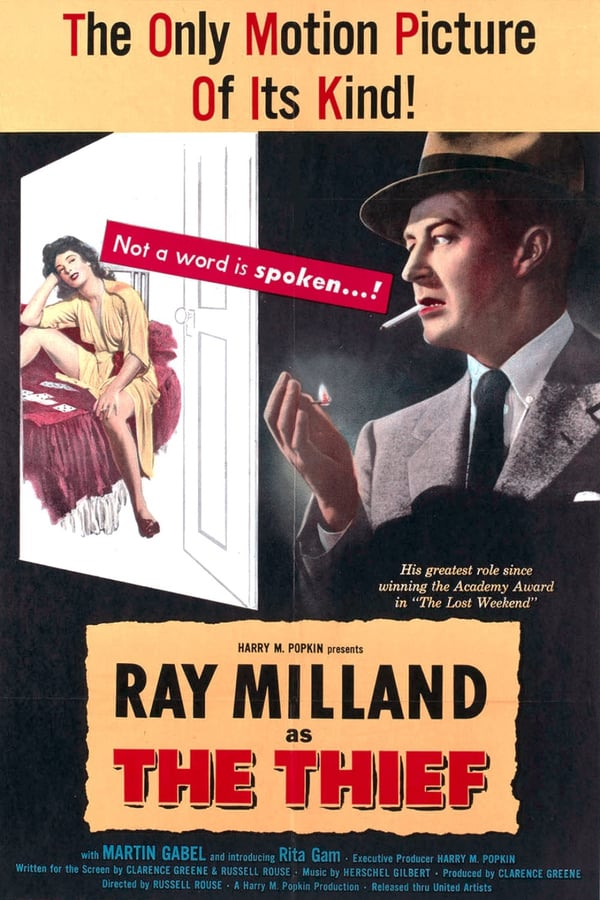 The Thief (1952) - Ray Milland  DVD