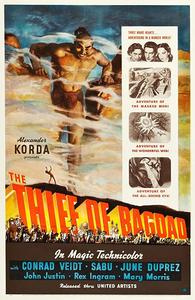 The Thief Of Bagdad (1940) - Conrad Veidt  DVD