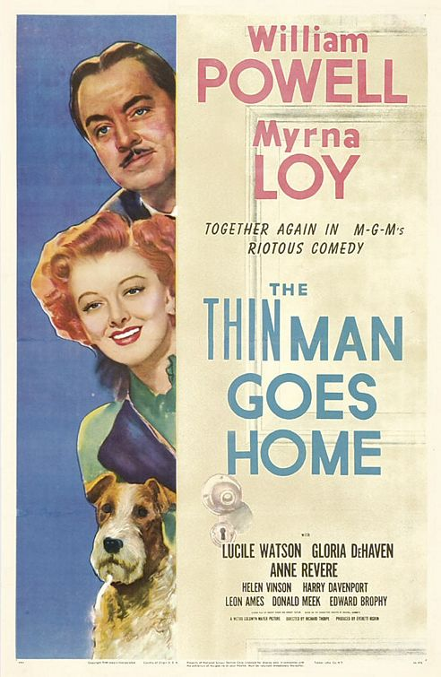 Thin Man : The Thin Man Goes Home (1941) - William Powell  DVD