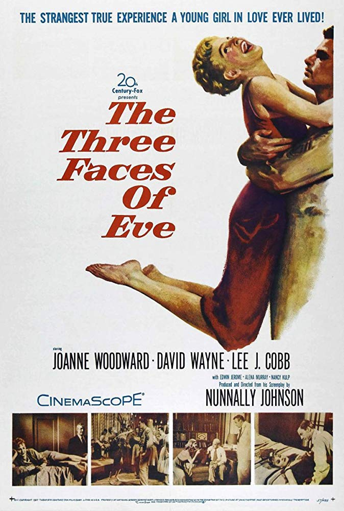 The Three Faces Of Eve (1957) - Joanne Woodward  DVD
