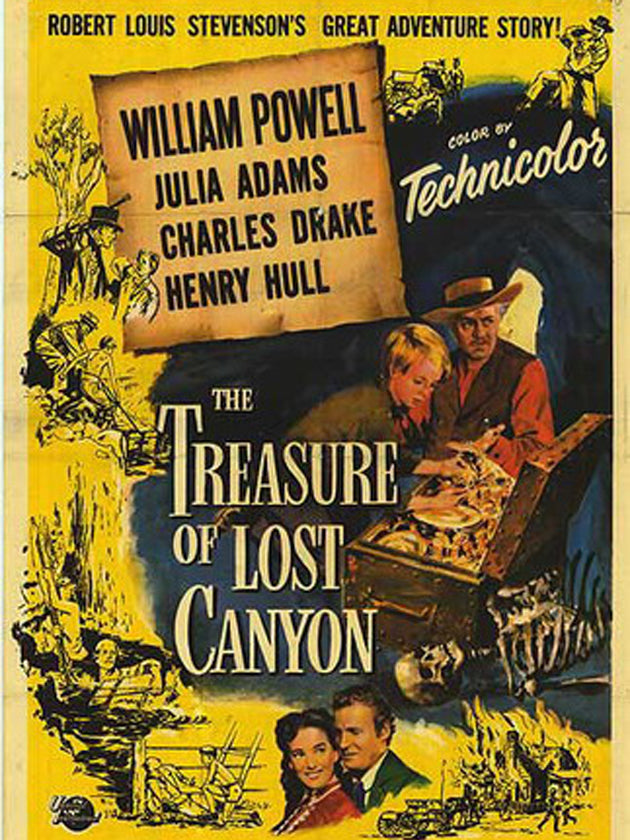 The Treasure Of Lost Canyon (1952) - William Powell  DVD