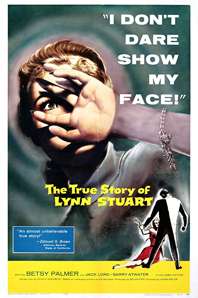 The True Story Of Lynn Stuart (1958) - Betsy Palmer  DVD