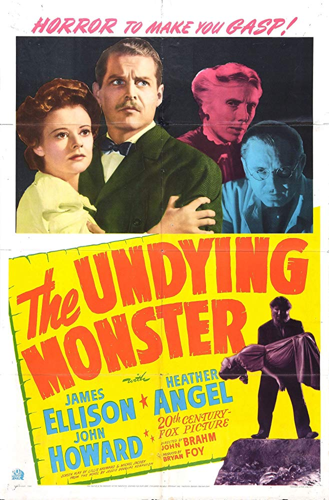 The Undying Monster (1942) - James Ellison  DVD