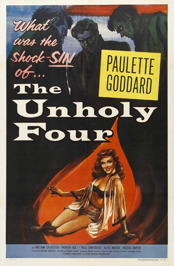 The Unholy Four AKA The Stranger Came Home (1954) - Paulette Goddard  DVD