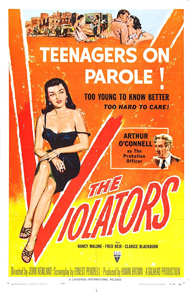 The Violators (1957) - Arthur O´Connell  DVD