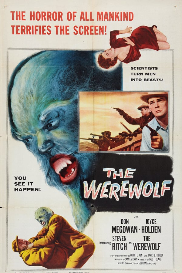 The Werewolf (1956) - Don Megowan  DVD