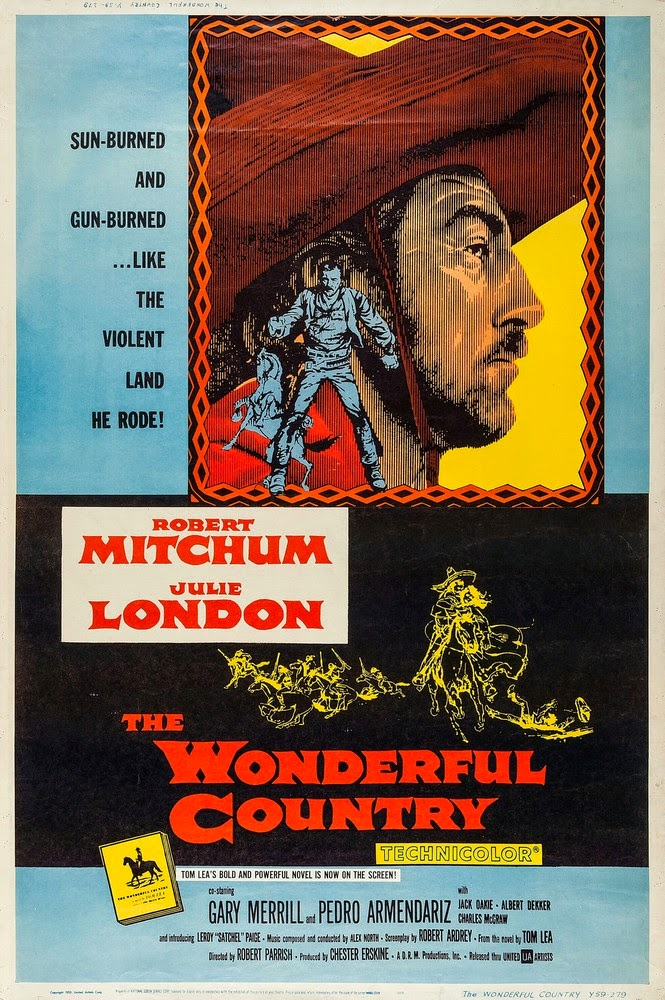 The Wonderful Country (1959) - Robert Mitchum  DVD