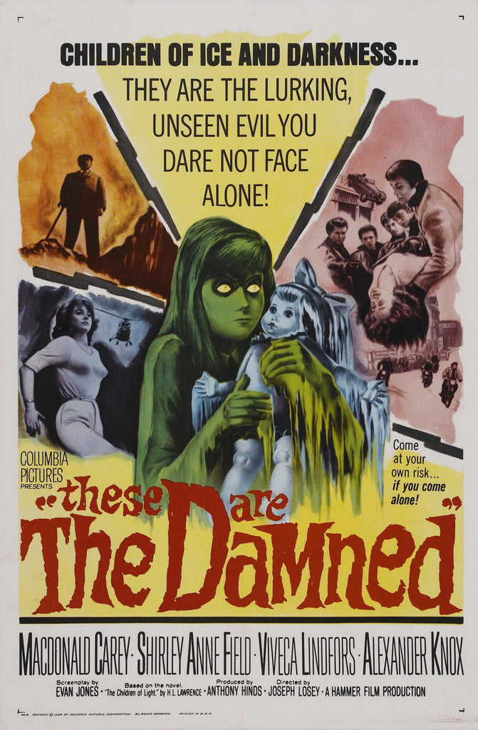 These Are The Damned AKA The Damned (1963) - Joseph Losey  DVD