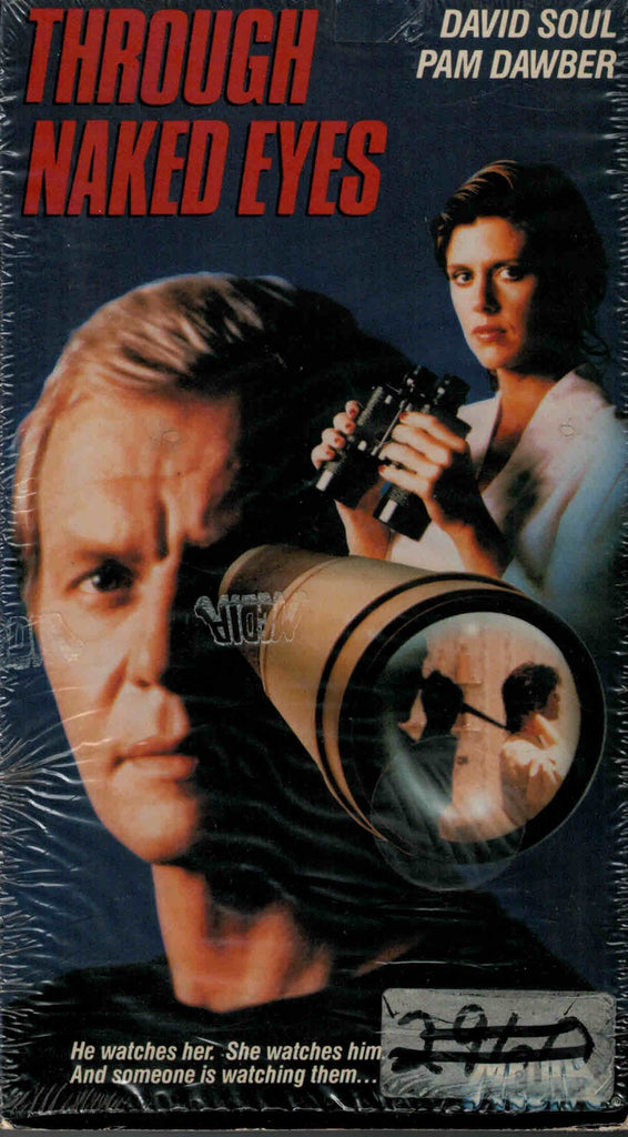Through Naked Eyes (1983) - David Soul  VHS