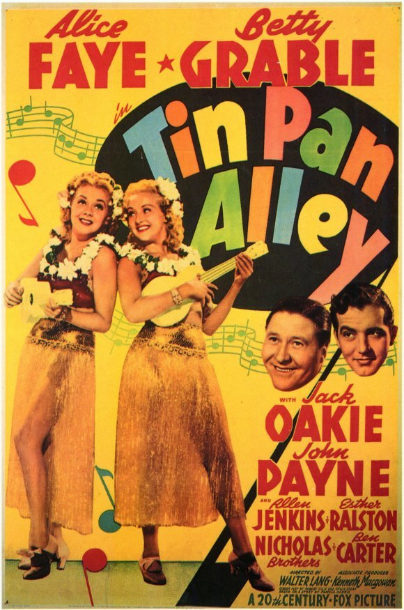 Tin Pan Alley (1940) - Betty Grable  DVD