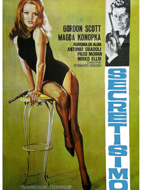 Top Secret (1967) - Gordon Scott  DVD