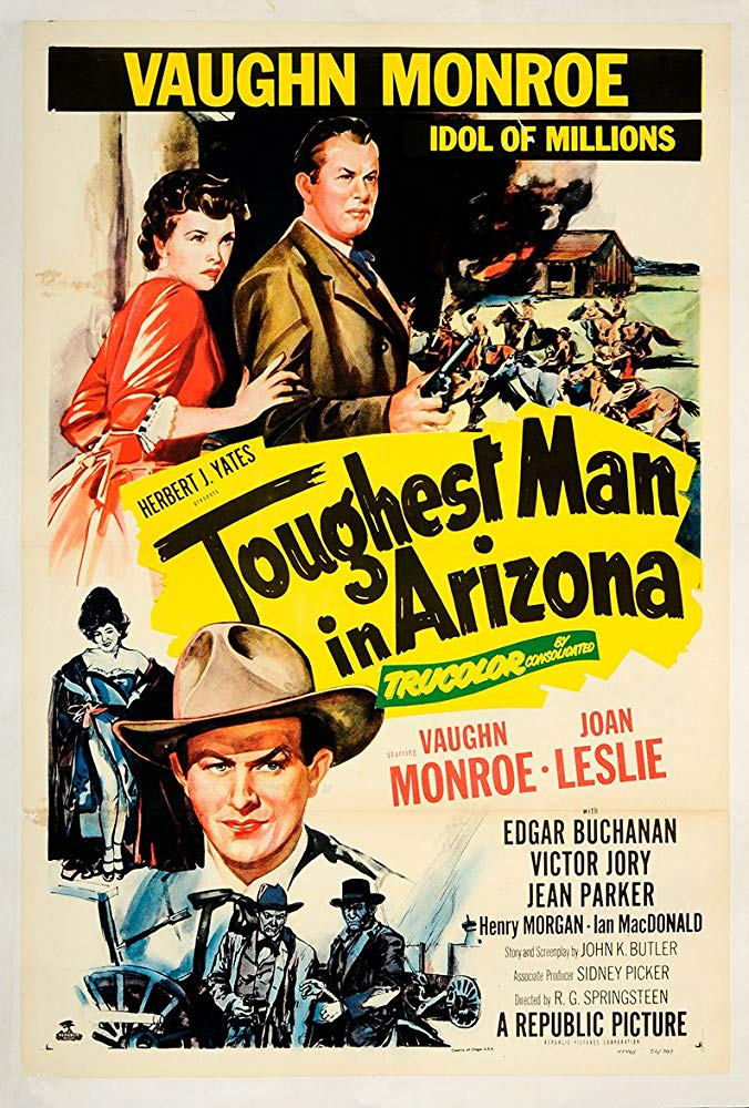Toughest Man In Arizona (1952) - Vaughn Monroe  DVD