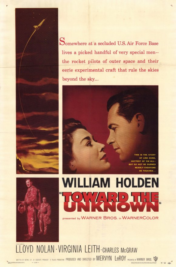 Toward The Unknown (1956) - William Holden  DVD