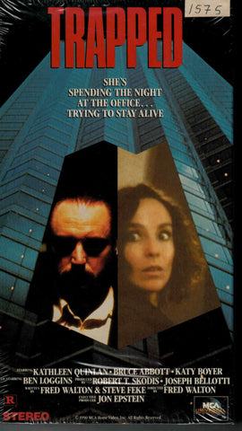 Trapped (1989) - Kathleen Quinlan  VHS