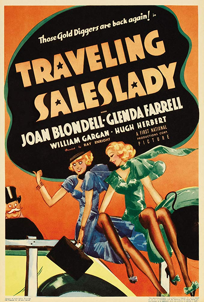 Traveling Saleslady (1935) - Joan Blondell  DVD