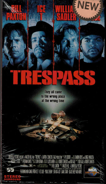 Trespass (1991) - Bill Paxton  VHS