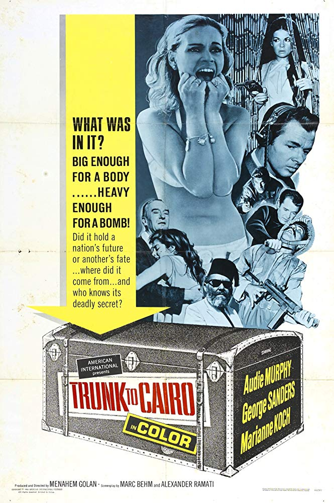 Trunk To Cairo (1965) - Audie Murphy  DVD