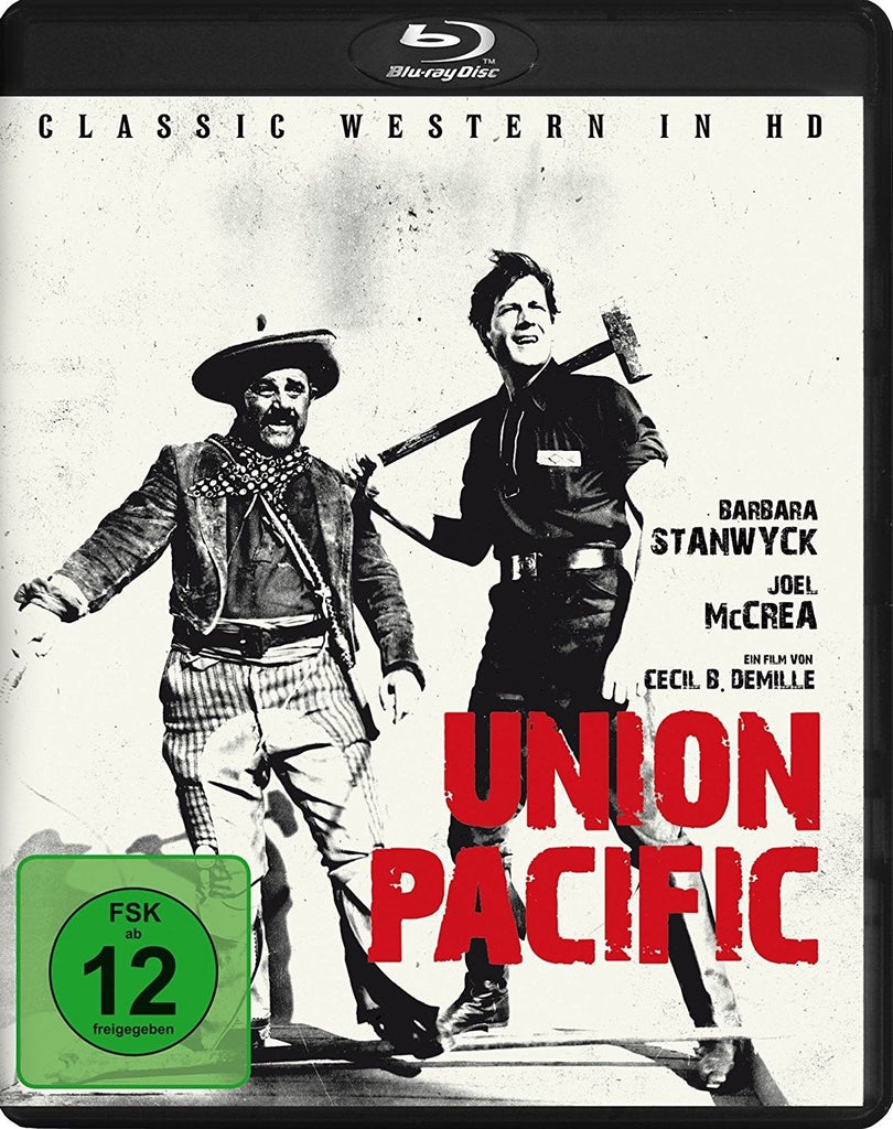 Union Pacific (1939) - Joel McCrea  Blu-ray