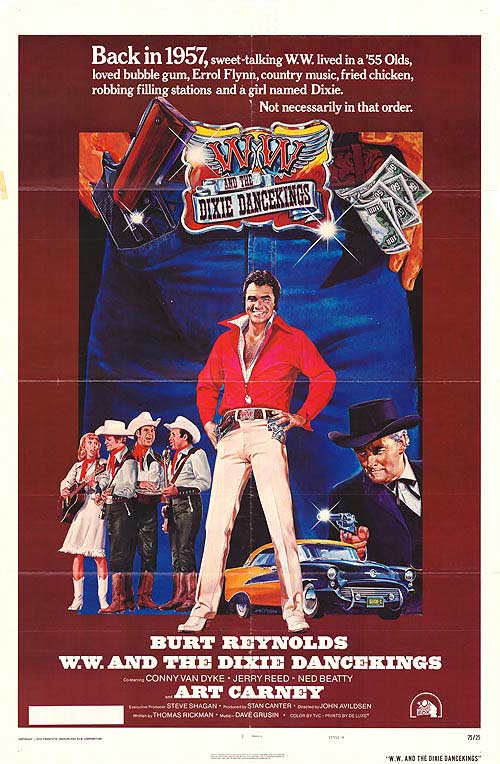 W.W. And The Dixie Dancekings (1975) - Burt Reynolds  DVD