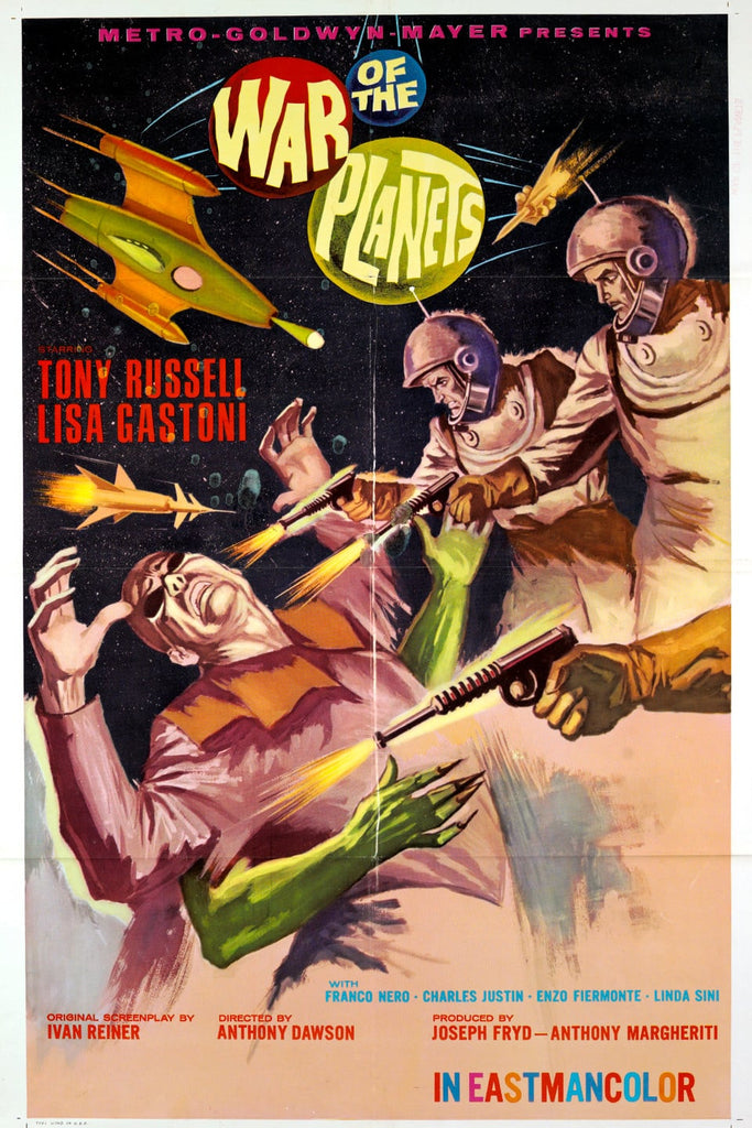 War Of The Planets (1966) - Tony Russell  DVD