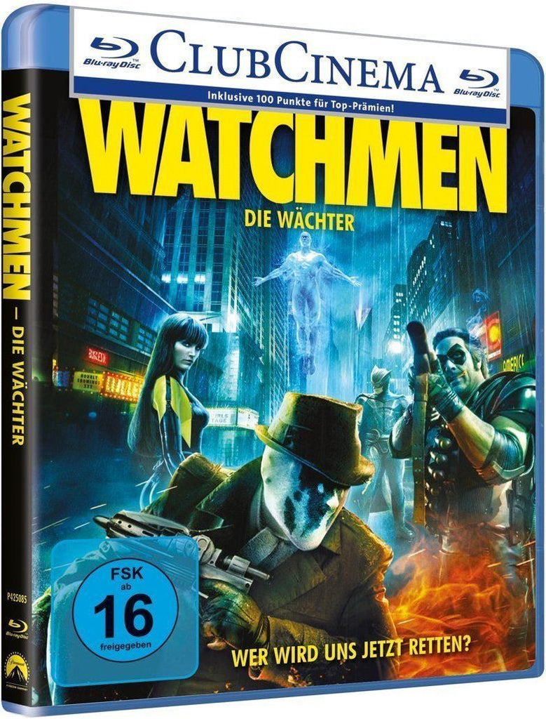 Watchmen (2009) - Billy Crudup  Blu-ray