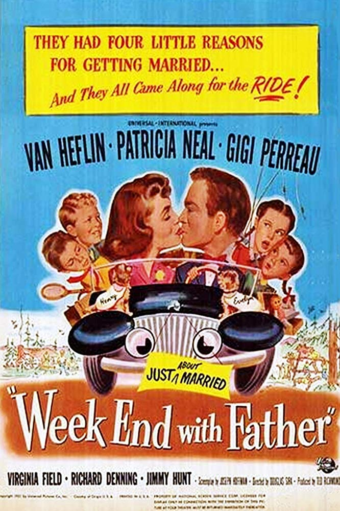 Week-End With Father (1951) - Van Heflin