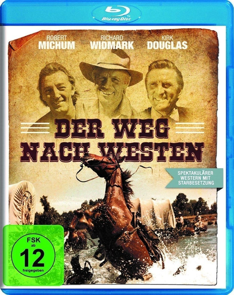 The Way West (1967) - Kirk Douglas  Blu-ray
