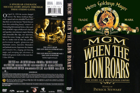 MGM : When The Lion Roars (1992) - 2 DVD Set