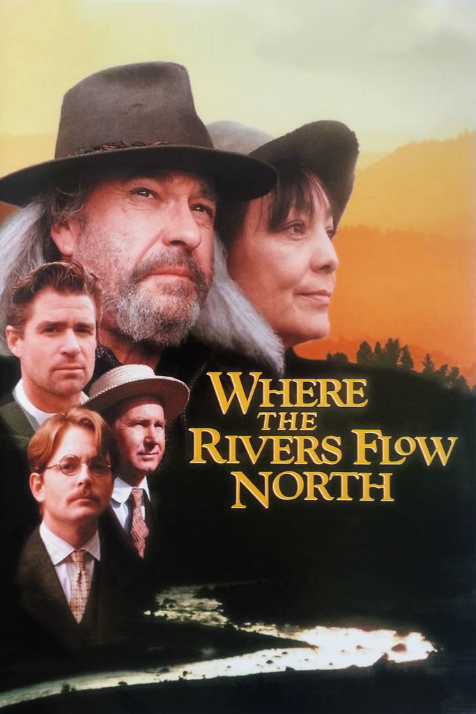 Where The Rivers Flow North (1993) - Rip Torn  DVD