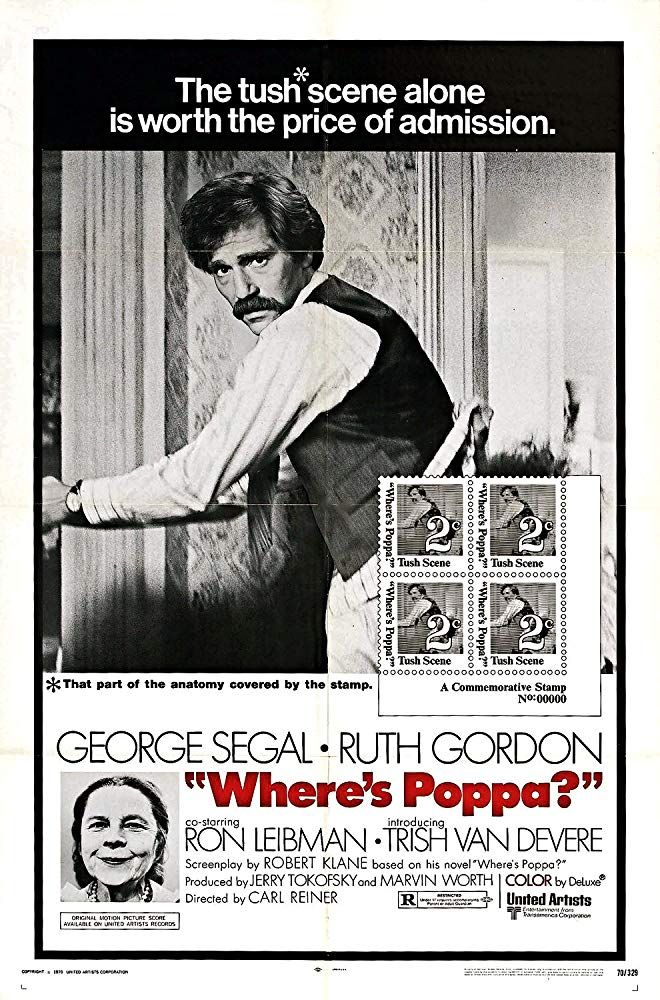 Where´s Poppa ? (1970) - George Segal  DVD