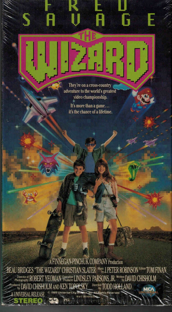 The Wizard (1989) - Fred Savage  VHS