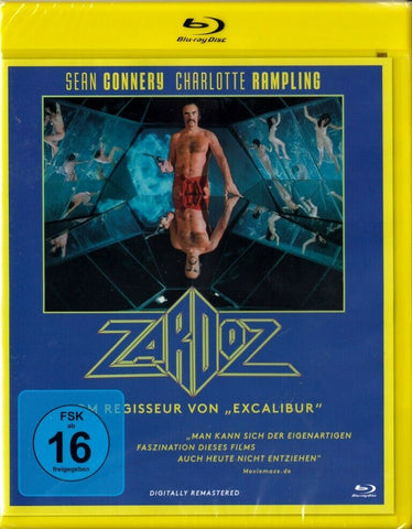 Zardoz (1974) - Sean Connery  Blu-ray