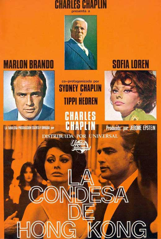A Countess From Hong Kong (1967) - Marlon Brando  DVD