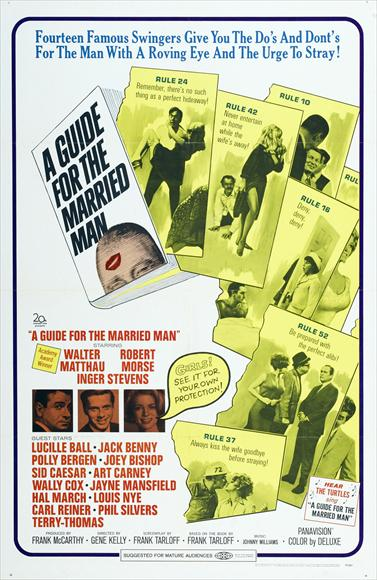 A Guide For The Married Man (1967) - Walter Matthau  DVD