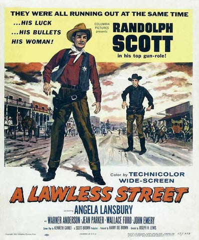 A Lawless Street (1955) - Randolph Scott  DVD